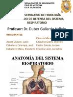Mecanismos de Defensa Del Pulmon.