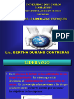 Clase 10 Liderazgo Enfoques