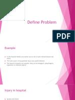 Topic 6 Define Problem