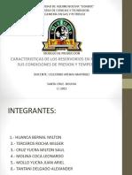 276731730 Caracteristicas de Los Reservorios en Relacion a Sus Condiciones de Presion y Temperatura