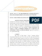 Gobierno Interpone Recurso Extraordinario Federal- Foro Ecologista