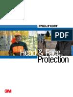3M SIGURANTA PERSONALA Brosura Protectia Capului Si a Fetei ENG