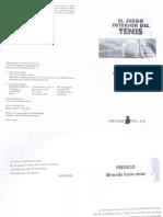 Juego Interior Del Tenis