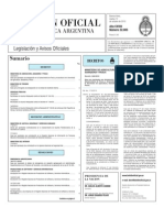Boletin Oficial 12-10-10 - Primera Seccion