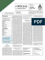 Boletin Oficial 13-10-10 - Segunda Seccion