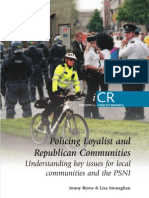 Policing Loyalist and Republican Communities