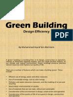 Green Building - Design Efficiency