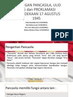 HUBUNGAN PANCASILA, UUD 1945 dan PROKLAMASI KEMERDEKAAN.pptx