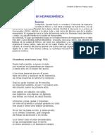 8. Poesia barroca hispanoamericana. Bernardo de Balbuena
