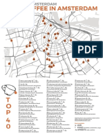 Awesome Amsterdam Coffee Map