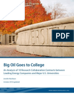 Big Oil Goes Back to College