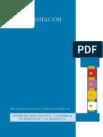 INTERVENCIÓN ASISTIDA CON PERROS EN PERSONAS CON DEMENCIA