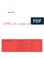 Opec Case of Cartel