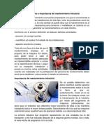 1.1 Mantenimiento Industrial