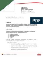Informe DOMSLB- 0025-2015 Avace Del Proyecto Planta Páez