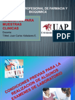 Sem. 3 -Requisitos Para Muestras Clinicas
