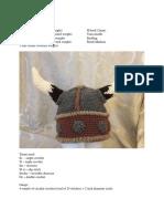 Viking Helmet crochet pattern