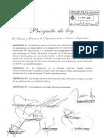 El PJ presentó un proyecto para eximir de Ganancias el bono de $5000