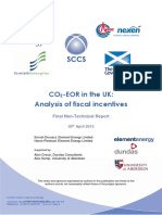 SCCS CO2 EOR JIP Tax Study Non Technical Report 2013