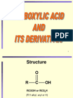 Lecture 10 - Carboxylic Acid and Derivatives