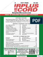 DECEMBER 2018 Surplus Record Machinery & Equipment Directory