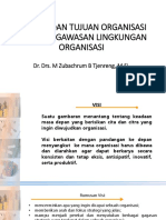Visi Misi Dan Tujuan Organisais Serta Pengawasan Lingkungan Organisasi