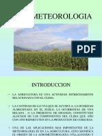 Agrometeorologia. Clase 2