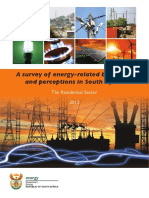 Survey of Energy related behaviour and perception in SA - Residential Sector - 2012.pdf