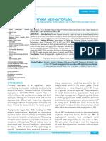 Asphyxia Neonatorum Article.