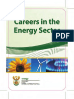 Careers in The Energy Sector Brochure