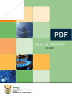 DoE Annual Report 2012 13