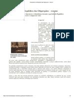 Clientelismo Na República Das Oligarquias – Resumo