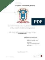 ZONIFICACION ECOLOGICA ECONOMICA Y ESTUDIOS ESPECIALIZADOS