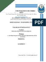 UNIDAD 2 TALLER DE INVESTIGACION .docx