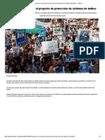Avanza en El Senado El Proyecto de Protección de Víctimas de Delitos - Infobae