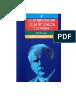 JungCarlGustavLaInterpretacionDeLaNaturalezaYLaPsique.PDF