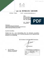 Wet Kredietregistratiebureaus 2016 Suriname