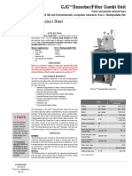 Desorber Filter Combi Unit Emulsified Oils EAL Biodegradable Oils PSST1024UK