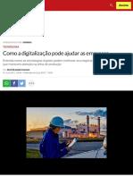 Como a digitalização pode ajudar as empresas | EXAME