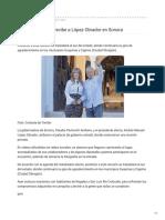 22-09-2018 - Claudia Pavlovich recibe a López Obrador en Sonora - Cronica