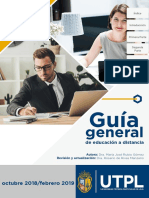 Guia general de educacion a distancia UTPL