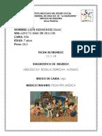 INGRESO Perez Andrade Baldimir