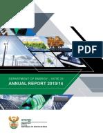 DoE Annual Report 2013 14