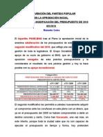intervencion Partido Popular  2ª.modificación presupuesto 2010.Pleno 4/10/2010