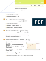 Miniteste de Avaliação 1- Funções Reais de Variável Real(Enunciado e Soluções)