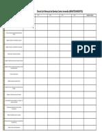 F-se-021 Check List Mensual de Bomba Contra Incendio