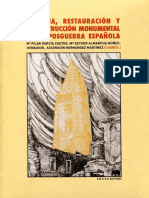 Historia restauracion monumental en la posguerra española