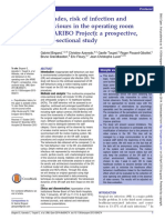 Attitudes, risk of infection and behaviours in the operating room (the ARIBO Project); a prospective, cross-sectional study.pdf