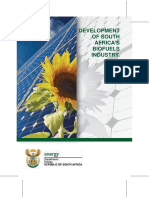 Biofuels Industry Brochure Econimic Opportunities in the Energy Sector