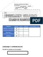 Examen Diagnostico Primer Grado 2018-2019 (1)